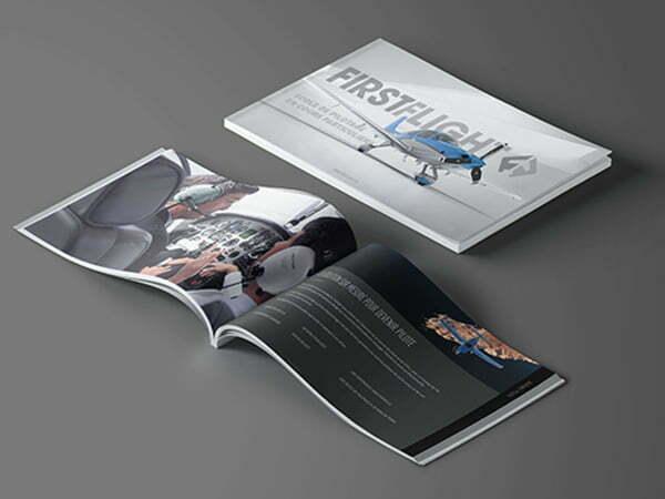 Création brochure FirstFlight