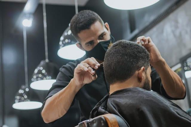 Aides covid-site internet-barber shop