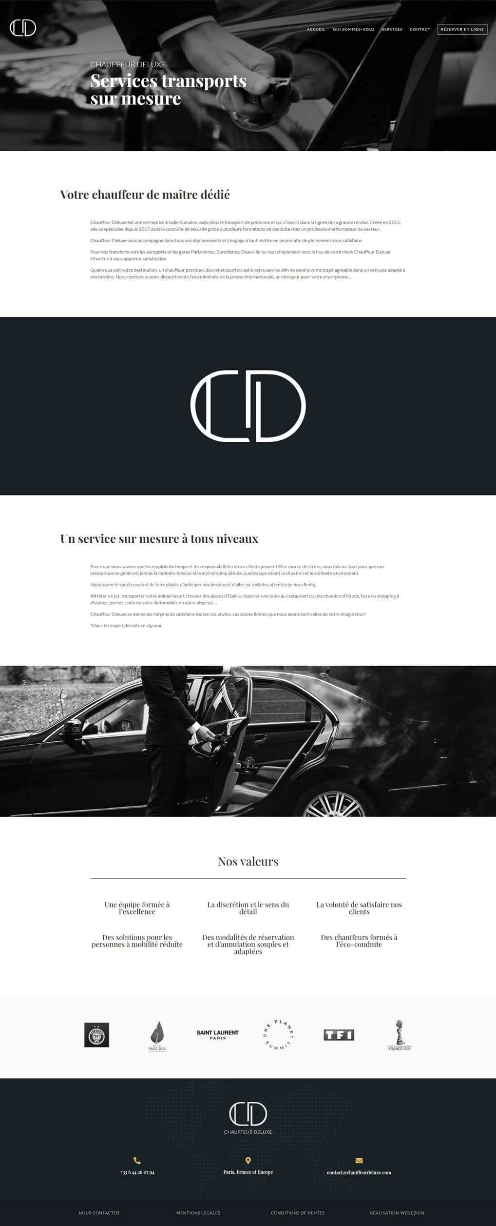 Maquette site ecommerce mariette dfd